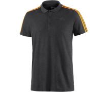 Essential 3S Poloshirt Herren, grau