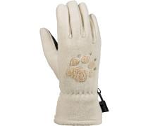 Paw Fleece Handschuhe, gelb