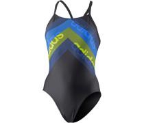 Schwimmanzug Damen, schwarz