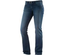 Olivia Bootcut Jeans Damen, blau