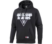 Oakland Raiders Hoodie Herren, schwarz