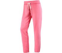 Sweathose Damen, pink/melange