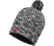 KNITTED & POLAR HAT MARGO Beanie Damen, grau