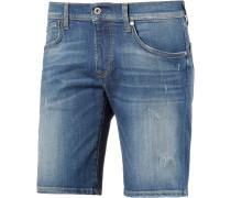 Cane Jeansshorts Herren, blau