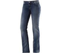 Alice Straight Fit Jeans Damen, blau