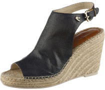 Wedges Damen, schwarz