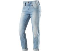 Pitch Boyfriend Jeans Damen, blau