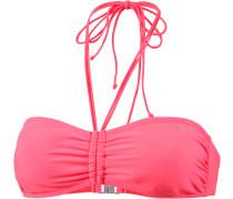 Sourine Bikini Oberteil Damen, rosa