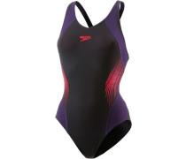 Fit Splice Muscleback Schwimmanzug Damen, mehrfarbig