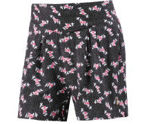 Juli-Susi Shorts Damen, schwarz/allover