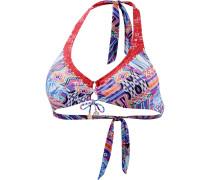 Gypsy Patchwork Bikini Oberteil Damen, mehrfarbig