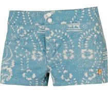 Shearwater Shorts Damen, hellblau/offwhite