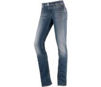 Vicki Straight Fit Jeans Damen, blau