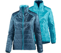 Runbold Light Outdoorjacke Damen, hellblau/petrol