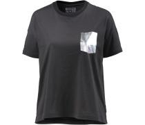 Oversize Shirt Damen, grau