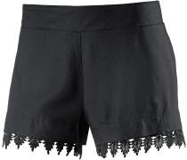 Shorts Damen, schwarz