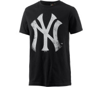New York Yankees T-Shirt Herren, schwarz