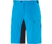 Trail Flow Bike Shorts Herren, hawai blue