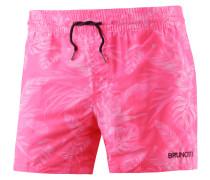 Crunot Badeshorts Herren, neon pink