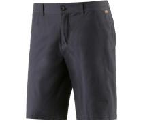 Chino Short Shorts Herren, schwarz