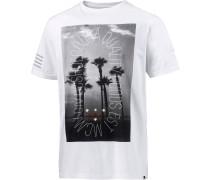 The Pier Printshirt Herren, weiß