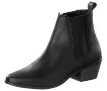 Chelsea Boots Damen, schwarz