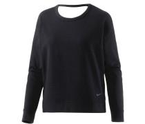 Dry Versa Open Langarmshirt Damen, schwarz