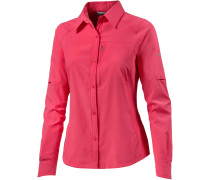 Silver Ridge Funktionsbluse Damen, rosa