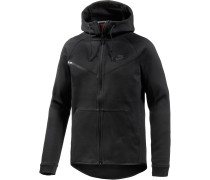 Tech Fleece Sweatjacke Herren, schwarz