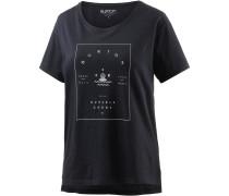 Night Lily T-Shirt Damen, schwarz