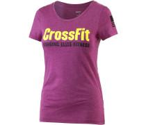 Crossfit T-Shirt Damen, rosa
