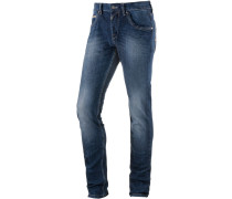 EdoTZ Slim Fit Jeans Herren, blau