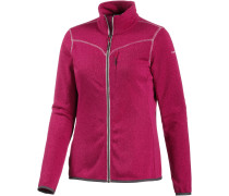 Elea Strickfleece Damen, rosa