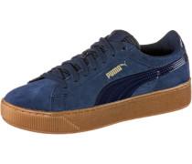 Vikky Platform Sneaker Damen, blau