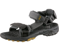 Seven Seas Outdoorsandalen Kinder, grau