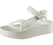 Flatform Universal Sandalen Damen, weiß