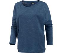 Henni Spots Sweatshirt Damen, blau