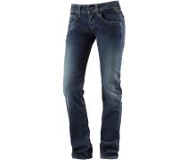 New Swenfani Straight Fit Jeans Damen, blau