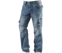 BenitoTZ Loose Fit Jeans Herren, light washed denim
