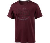 Type Elements Printshirt Herren, rot