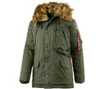 Polar Jacket Parka Herren, grün