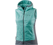 Freney Outdoorweste Damen, türkis