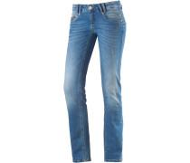 Alena Skinny Fit Jeans Damen, blau