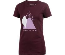 Levelz Printshirt Damen, rot