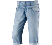 New BrittTZ 3/4-Jeans Damen, light washed denim