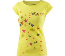 Superstar Printshirt Damen, gelb