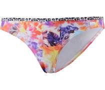 Spring Bikini Hose Damen, orange/gelb/lila