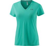 Threadborne Train T-Shirt Damen, türkis/melange