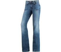 Melissa Bootcut Jeans Damen, blau
