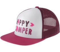 Happy Camper Trucker Cap Damen, rot
